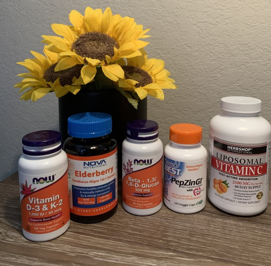 Taking a variety of supplements aids in boosting your immunity and overall health.