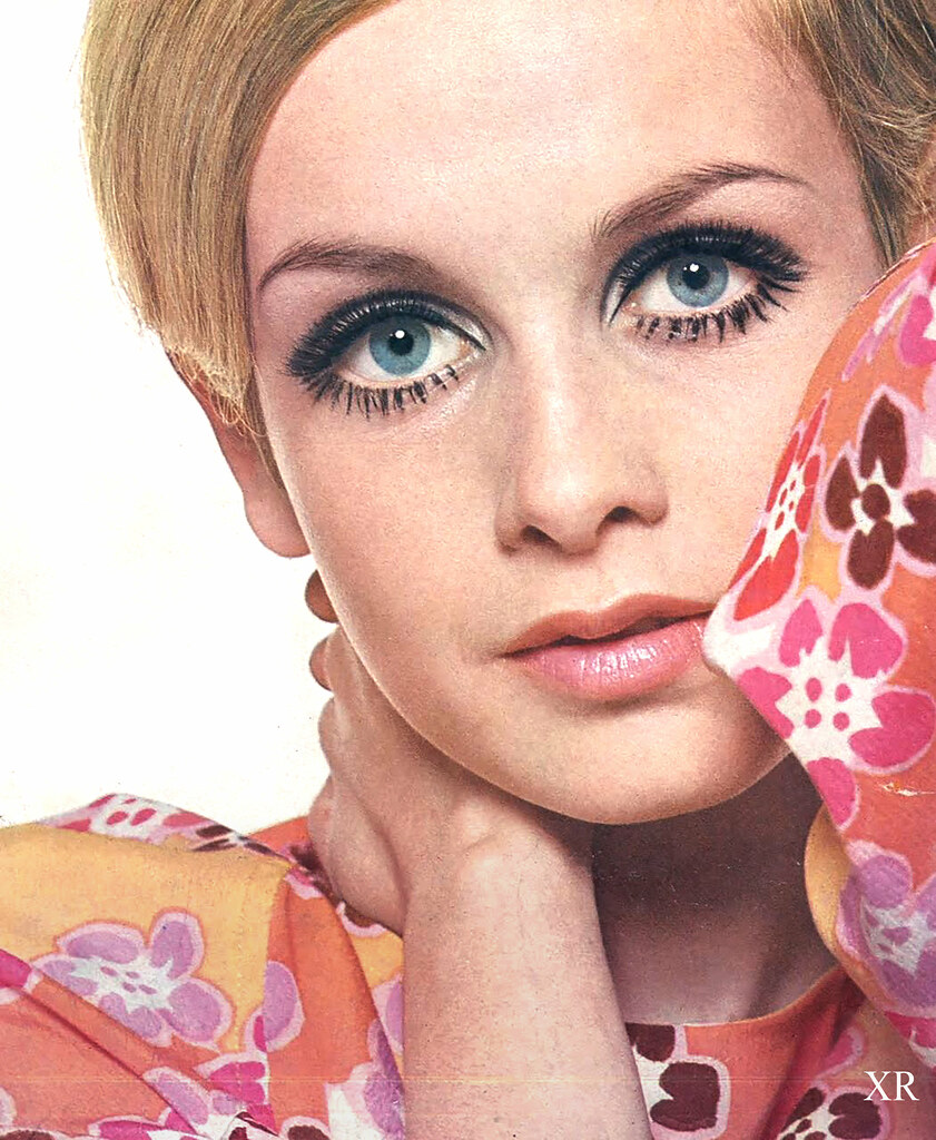 Pictured here in 1967, Twiggy was in the midst of her incredibly influential and successful modeling career.