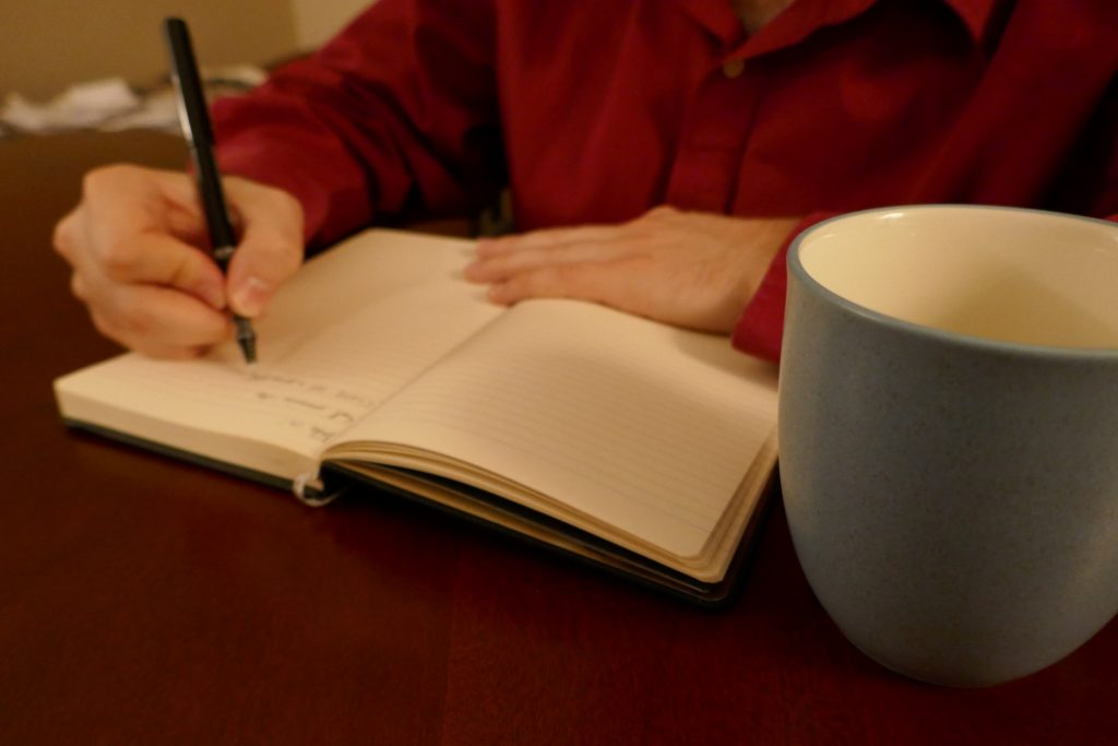 If you're struggling with being bored at home, writing in any capacity is a great fix.