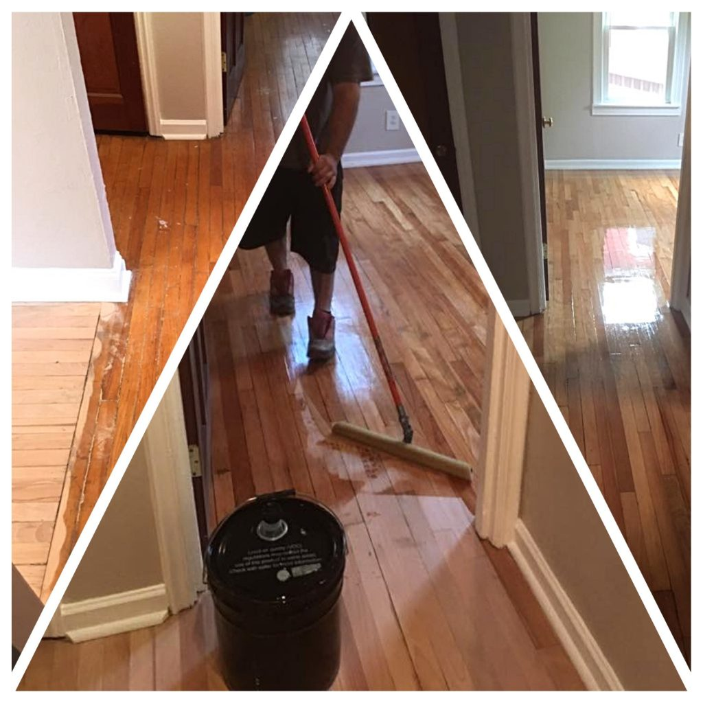 Refinishing hardwood floors is an easy at-home repair with the right materials and guidance.