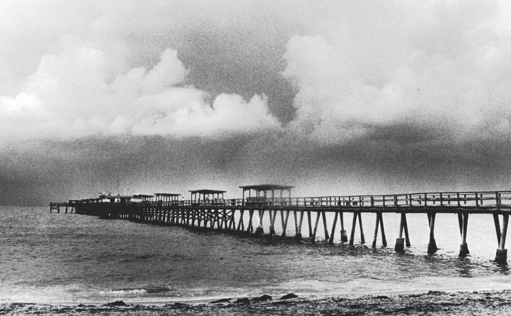 The pier at Indian Rocks Beach, courtesy of the Indian Rocks Historical Museum.