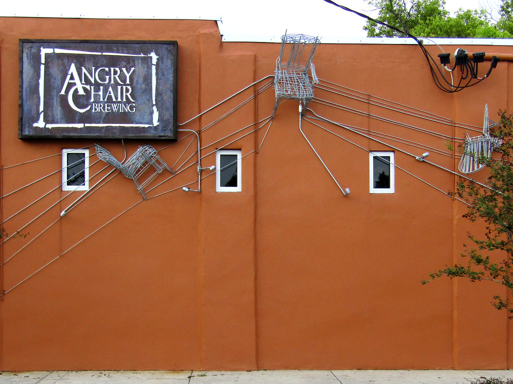 Angry Chair Brewing in Tampa, FL is the place to be. Image from user Terence Faircloth on Flickr.
