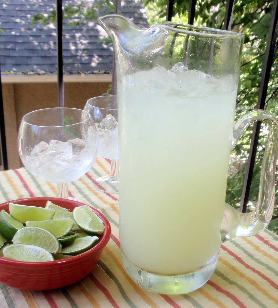 A pitcher of homemade margaritas is the perfect summertime treat. Image from user Steven Labinski on Flickr.