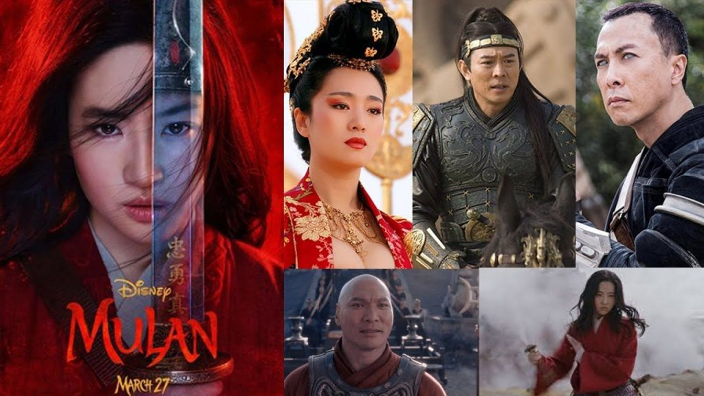 The cast of Disney's Mulan remake. Image from Pinterest.