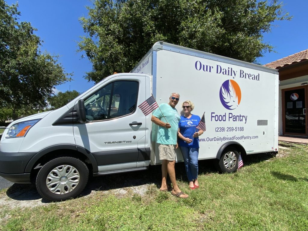 Donald and Liz Pecora of Our Daily Bread Food Pantry give their thoughts on what it means to be American.