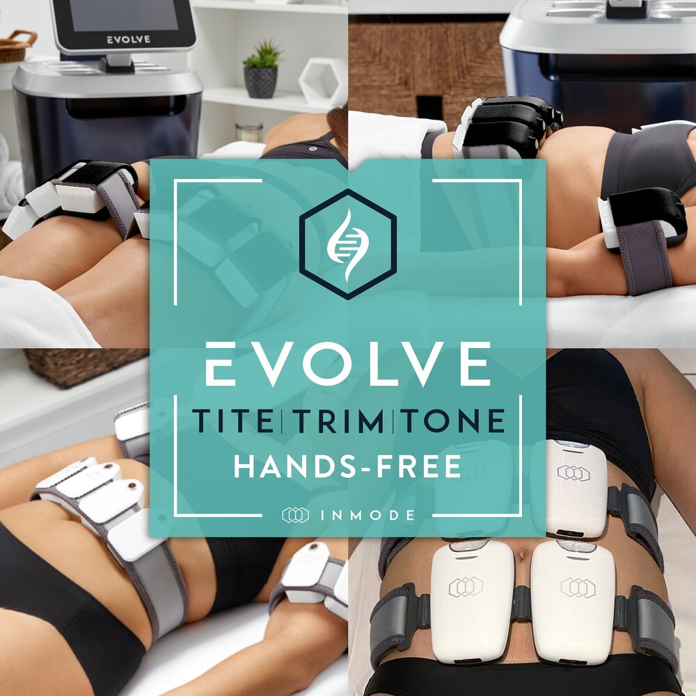 EVOLVE is hands-free and simple to do. Image from Alpine Laser Clinic.