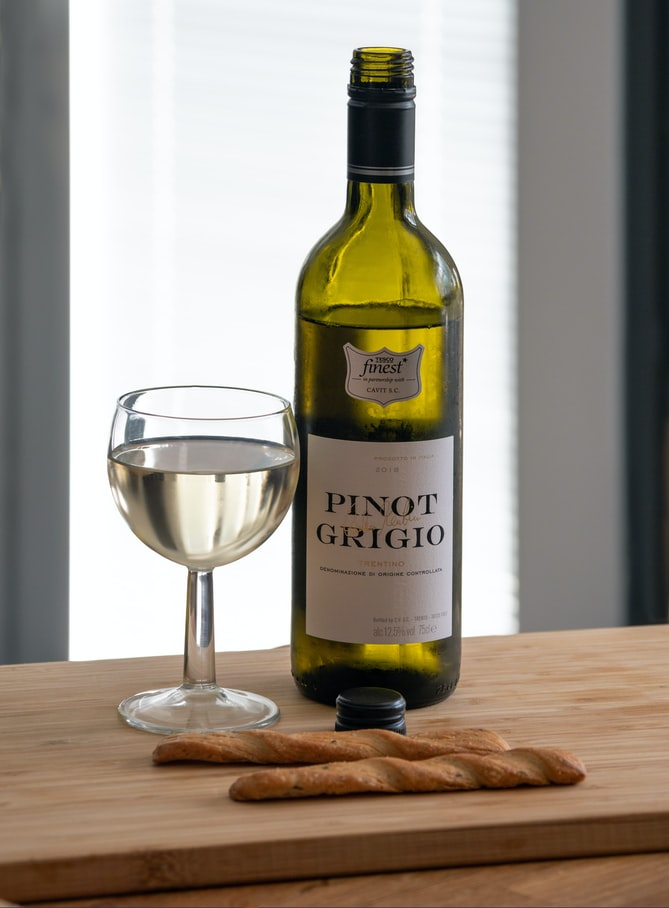 Pinot Grigio is an excellent wine for those who enjoy drier, acidic light wines.