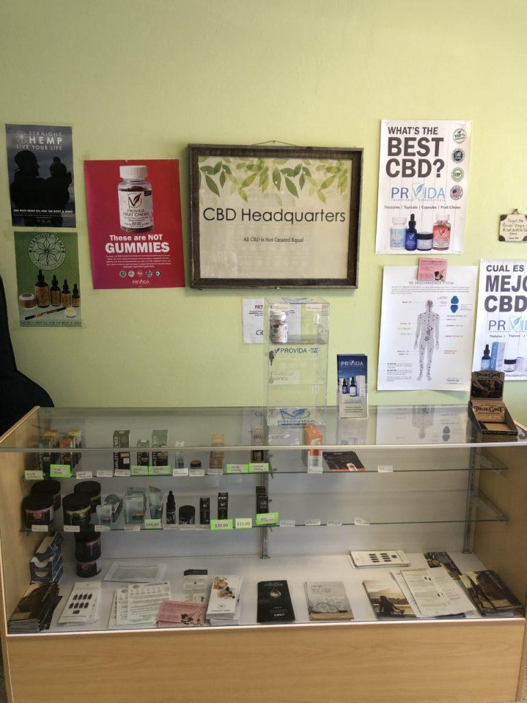 CBD products at Genesis Non-GMO