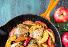 Recipe: One-Pan Cider Chicken and Apples