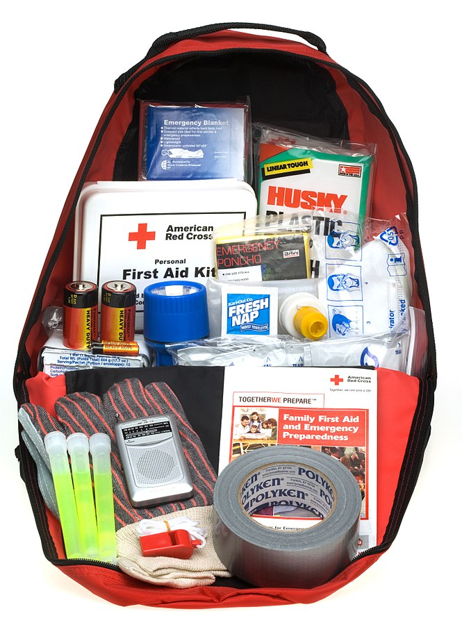 "An emergency ""go kit"" is a must for hurricane preparedness."