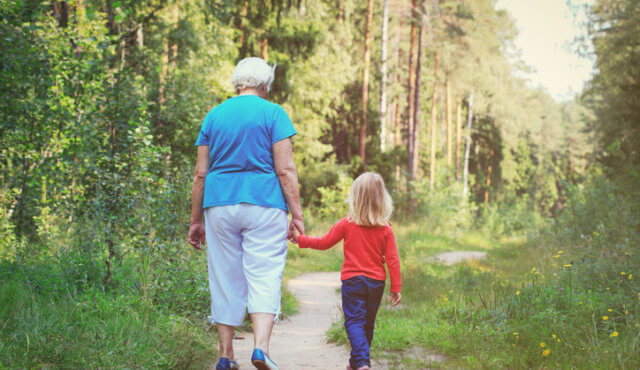 Spending time with your grandkids or grandma is, well, grand.