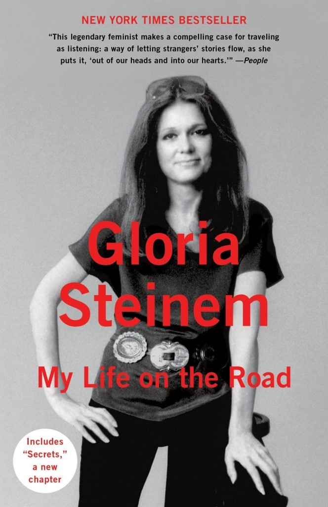 "Gloria's book, ""My Life on the Road""."