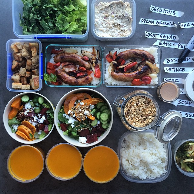 """Meal prepping"", or making several meals at one time, is a great way to stay cool throughout the week."