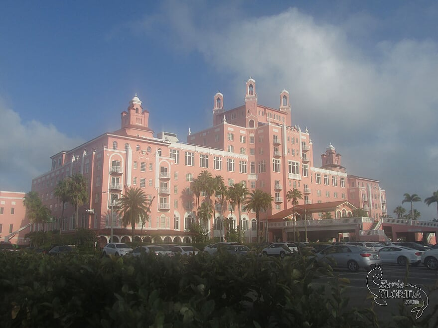 "The very haunted Don Cesar, pictured in ""Eerie Florida"" and courtesy of Mark Muncy."