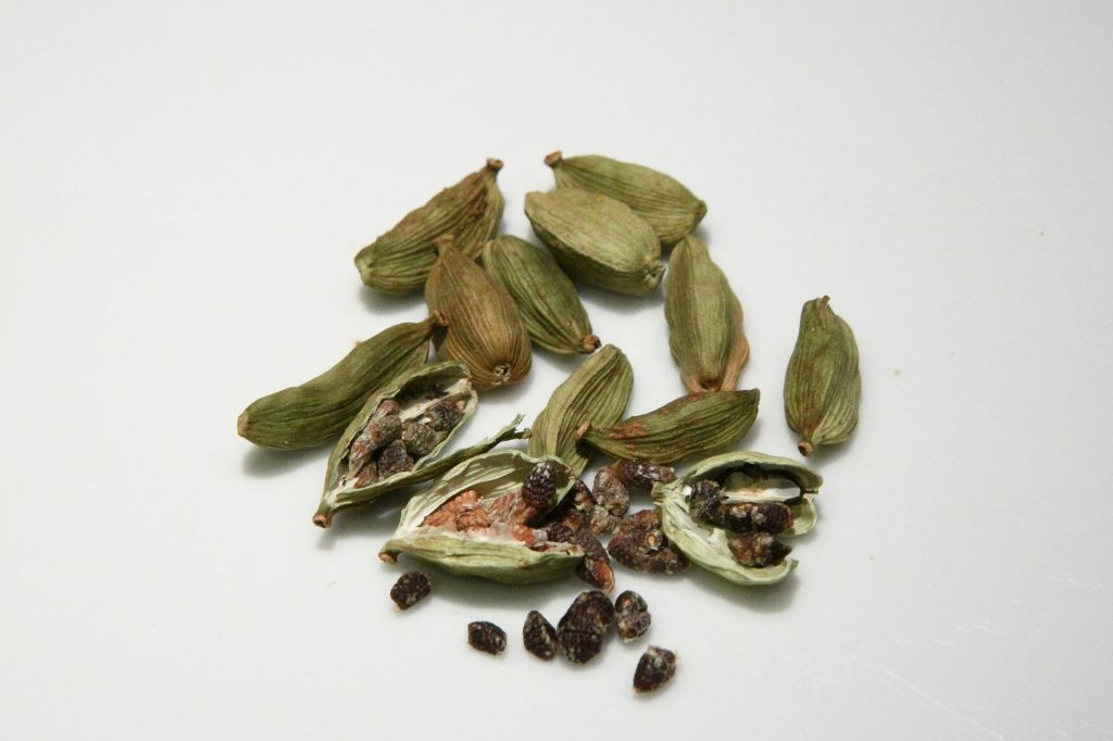 The dried pods of cardamom are a perfect way to warm your house this winter.