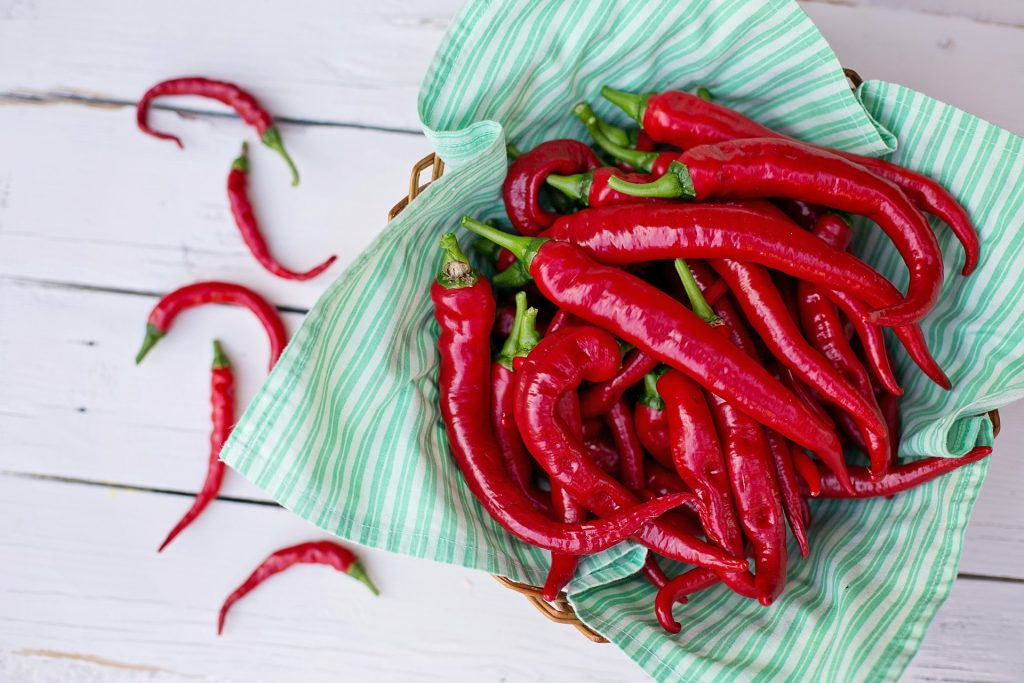 Beautifully bright with heat, cayenne peppers are the perfect way to spice up your diet.