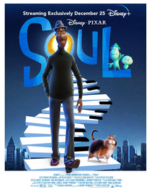 """Official movie poster for """"Soul."""" Image from Wikipedia"""