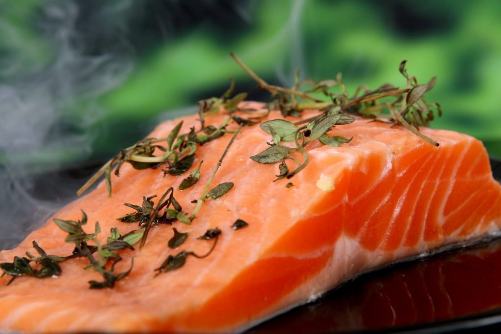Salmon is excellent for brain health.