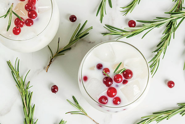 This fresh and flavorful Christmas spin on a classic mixed drink is just what you need to keep your holiday company happy.