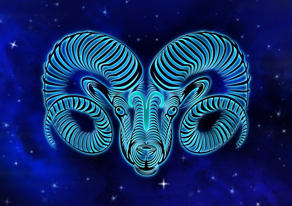 An image of the astrological sign of Aries
