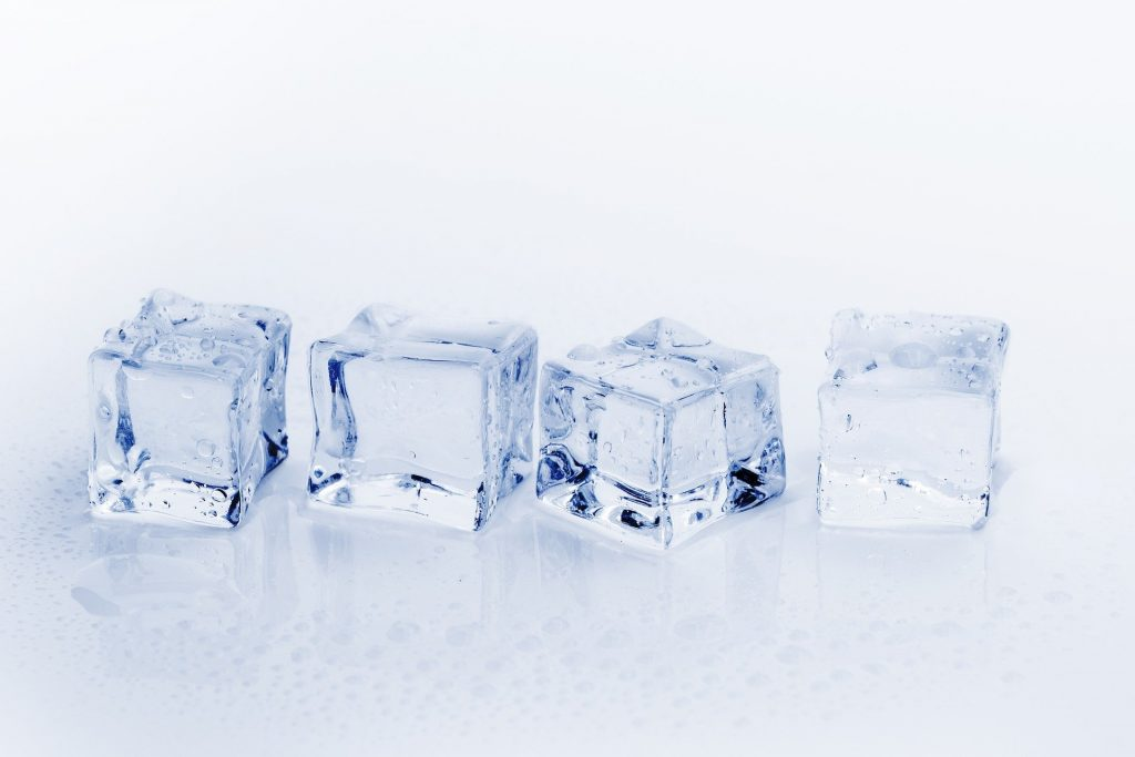 Ice is a priority for many refrigerator owners. Image from Pixabay