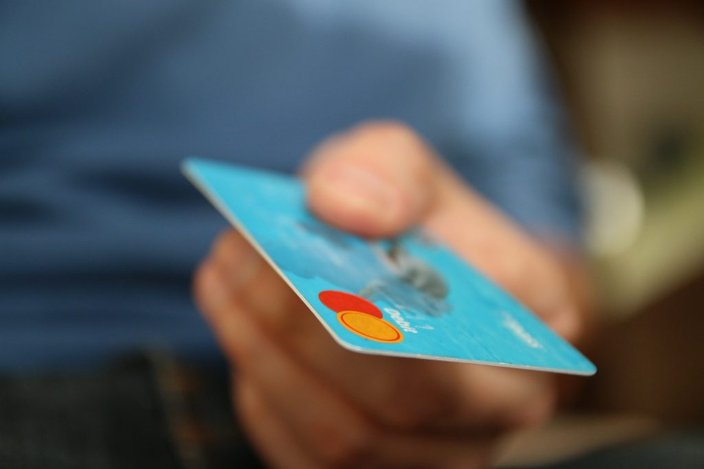 Credit card purchases are a great way to maximize your money. Image from Pixabay