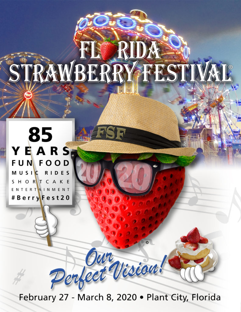 The official start of spring: The Florida Strawberry Festival!