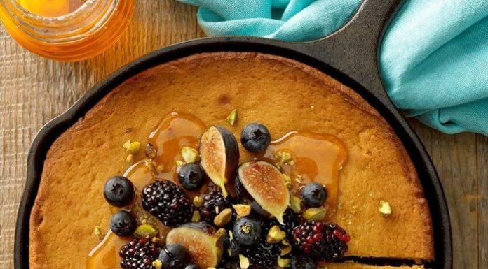 Honey Cake to Celebrate Honey Bees