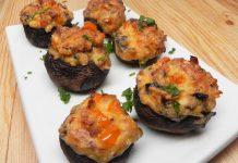 Recipe: Crab-Stuffed Mushrooms